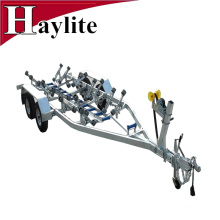 Hot dip galvanized boat trailer for boat